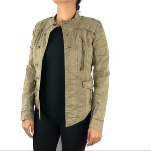 Anthropologie Marrakech Green Utility Jacket XS